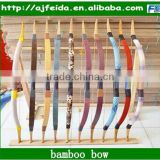 FD-16330 Wholesale Archery Bamboo Arrow With Turkey Feather For Traditional Bow Arrow Hunting