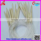 Any size and good quality circular bamboo knitting needles