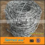 China hot dipped galvanized decorative barbed iron wire fence for protection(factory price)