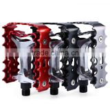 2 Pcs SETSAIL 662 MTB BMX Mountain Pedals Anti-skid Pedals Stainless Steel Ultralight Bicycle Pedals With 2 Bearings Axle