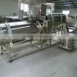 donuts/ potato chips/leisure snacks /dog biscuit food automatic twin rollers seasoning machine/flavor in china