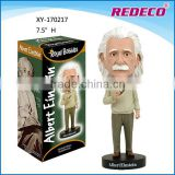 Whosaler 2017 hot einstein bobble head for sale