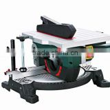210mm 1200w Aluminum/Wood Cutting Compound Miter Saw Machine Electric Portable Table Saw
