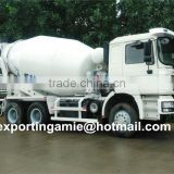 China best quality brand new d'long concrete mixer truck 9m3 with low price