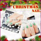 2017 new fashion private label acrylic nail for Christmas party