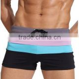 Men's Swimming trunks Boxer Brief Mens swimwear manufacturer factory