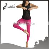,high quality fitness wear,yoga sports tank tops,(Hot seller) Women wholesale fitness apparel