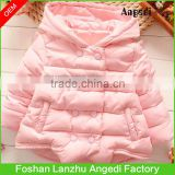 Kids winter wear Girls Boutique High quality cotton padded jacket superior warm coat in Fashion design