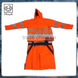 EN20471 safety reflective red strip security jacket