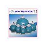 AQUA Swimming Pool Sand Filter,Water treatment top mount sand filter