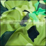 woven silk cotton camouflage digital printed fabric
