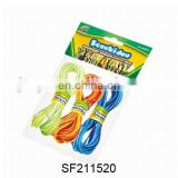 N+POPULAR ITEMS--80CM COLORFUL ROPE.RAINBOW CIRCLE.GIRL PLAYING SET.SF211520