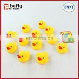 Promotional baby bathing toy rubber duck