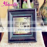AR141 Antique vintage 6 inch solid wood frame picture frame