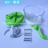 New national food processor Fruit & Vegetable Manual Chopper Masher Mincer