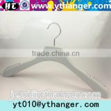 YY0465 brand shop rubber paint nonslip clothes hanger rubber coated coat hanger with notches