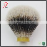 2 band badger shaving knot , badger hair shaving brush knots China manufacturer