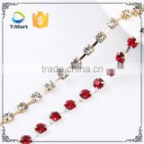 imports from china to pakistan cupchain crystal 4mm rhinestone cup chain