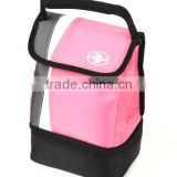 Custom Reusable Food Drinks Lunch Cooler Bag Insulated , Kids Insulated Picnic Tote Box With Outside Pockets                                                                         Quality Choice