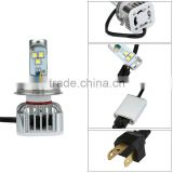 H4 H/L 30W 3000LM LED Car Headlight Bulb Low & High Beam Auto Lamp Replacement White