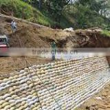recycle polyester nonwoven geotextile as river sand bags                                                                         Quality Choice