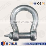 Forged European Type Lifting Brass Bow shackle