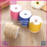 Customized Jute Burlap colourful fancy simple gift wrapping DIY decoration burlap roll