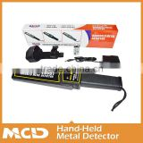 High sensitivity handheld metal detector/Human Detector Sensor/Detection Field of MCD-3003B1