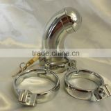Houdini Capped Male Steel Chastity Steel Cage with 3 Interchangeable Rings/ Bondage Medical SEX TOYS/Medical products