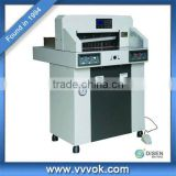 Hydraulic electric paper cutter guillotine