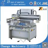 flat screen printing machines for metal sheet/plastic sheet/gift box/ceramics/glass plates/stationery/textile/fabric