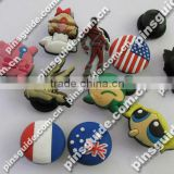 Supply High Quality Custom Soft PVC Shoe Charm For Kids Shoe Decoration
