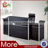 china supplier office furniture design front table salon beauty reception desk