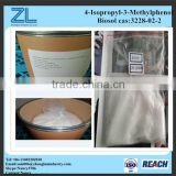 4-Isopropyl-3-Methylphenol powder replace Triclosan in daily chemicals