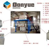 Dry mortar production machinery/masonry machine