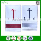 wholesale home textiles Cotton nautical themed tea towels uk                                                                                                         Supplier's Choice