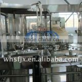 Fully automatic 3 in 1 plastic or glass bottle energy drink production line/machine