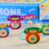Cartoon and cute eraser, telephone shape eraser
