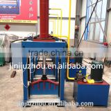 Vertical hydraulic rubber cutting machine for rubber car mat making line