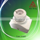 HAOHONG ceramic screw types fuse holder fuse unit