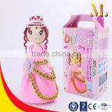 MLT09P Amazone hot sale Air Dry Clay Craft Princess For Girls
