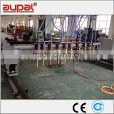High quality Multi flame torches CNC oxygen strip flame cutting machine with plasma torch