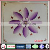 Professional new design hot stamping foil for pvc panel/pvc ceiling for Kenya