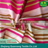 chinese best selling hot products 100% ployester color stripe classic home textile fabric