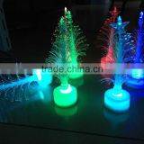 Colorful Flashing LED Christmas Tree/white outdoor lighted christmas trees led spiral christmas tree