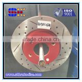 American Auto Parts brake disc Application and Iron Material casting for spare parts in China