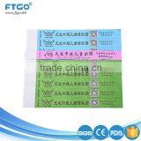 hot selling multi color disposable tyvek paper wristbands for event