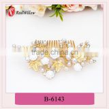 Hot sale top quality best price decorative bling bling hair claw,rhinestone decorative bling bling hair claw,alloy crystal pear