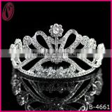 Costume Jewelry Wedding Accessories Crown Tiara With Flower
