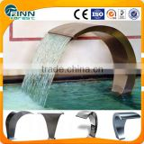 Water fountain Cobra stainless steel outdoor garden pool waterfall shower                                                                         Quality Choice